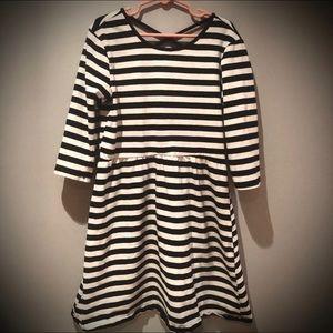 Forever 21 Girl's Striped Skater Crossback Dress